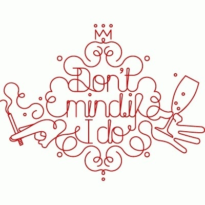 RINZEN . Antipodium - 'Dont Mind If I Do' collection, Spring/Summer 08 #type #vector #red #rinzen
