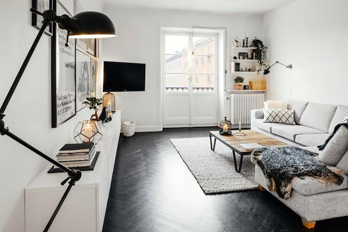 Minimal living room #interior #scandinavian #minimal #living