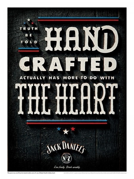jackdaniels_poster_heart_small #poster #typography