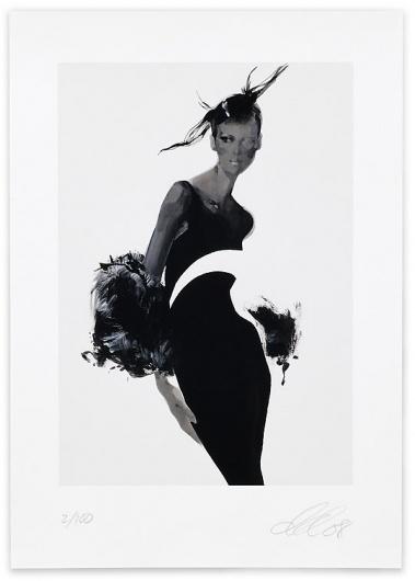 David Downton | Shiro to Kuro #fashion #illustration #david #downton