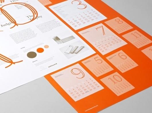 Studio Lin — High-res Special | September Industry #orange #lin #studio #type #core77 #brochure