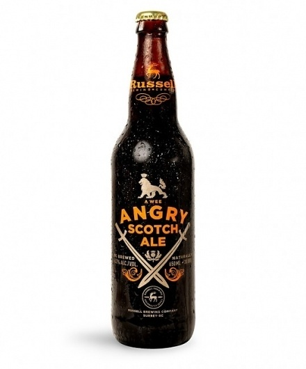 A Wee Angry Scotch Ale | Lovely Package #packaging #beer