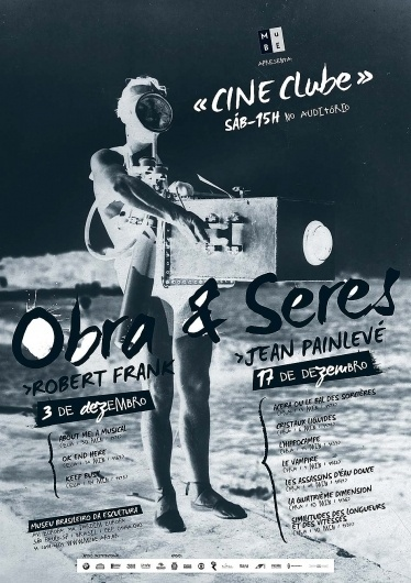 DONA BARONESA – professional design studio » CINE CLUBE – film exhibition poster #movie #poster