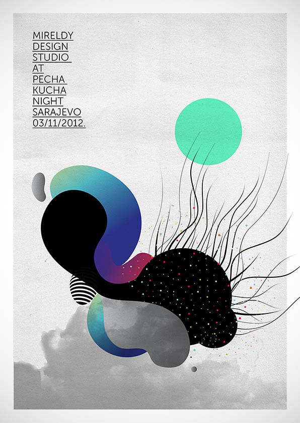 PECHA KUCHA NIGHT on Behance #illustration #design #poster