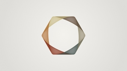 Advance Nonwoven - Identity on the Behance Network #muted #color #advance #nonwoven #identity #hexagon