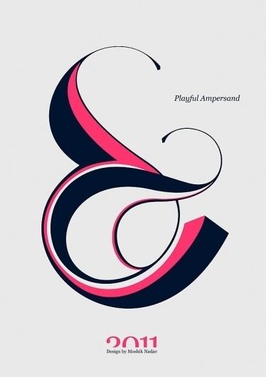 IdN™ POTM® — Typographer Moshik Nadav #typography