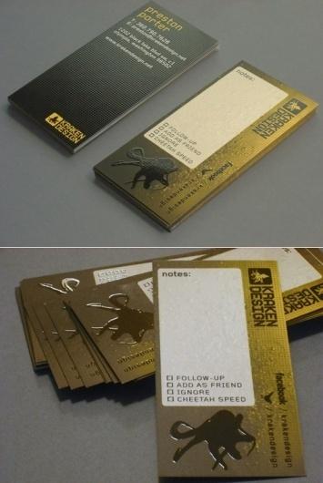 Kraken Design Business Card - Business Cards - Creattica #card #business