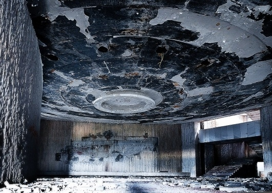 Monument to a troubled past: Inside the crumbling communist HQ Bulgaria cannot afford to maintain or demolish | Mail Online #russia #photography #architecture #documentary