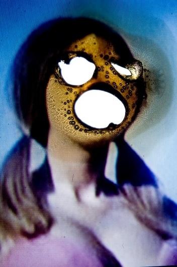 Slide Destruction by Jaymes Sinclair | Art Sponge #jaymes #projection #sponge #destruction #photography #art #sinclair