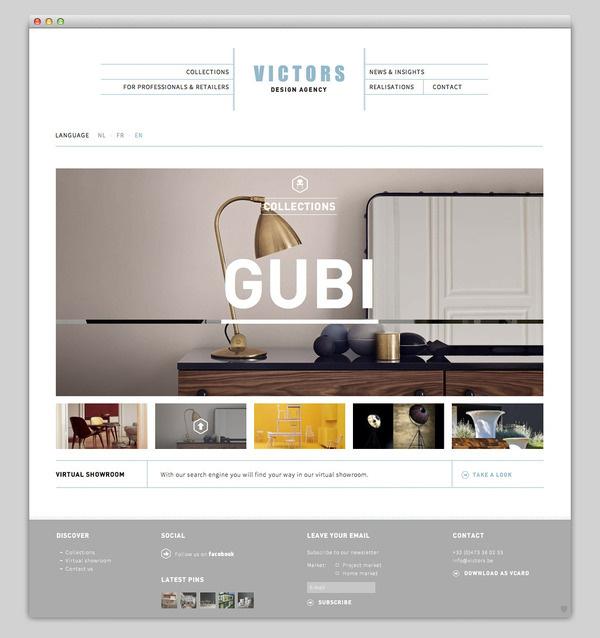 Victors #website #layout #design #web