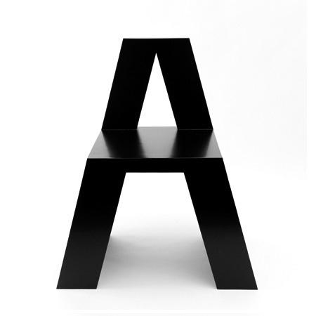 HelveticA Chair | Shiro to Kuro #chair #helvetica #furniture