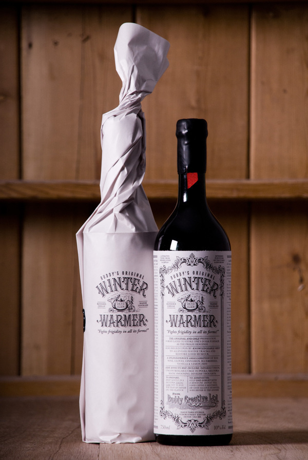Winter Warmer on Behance #packaging #design #wine
