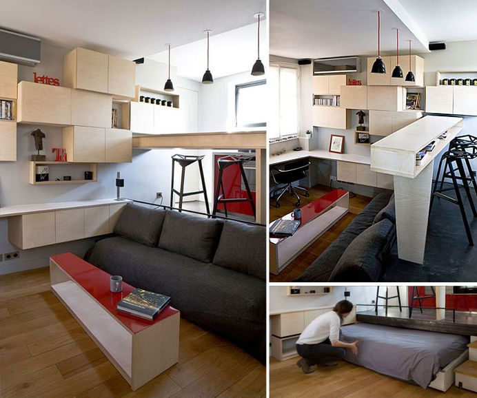 50 Small Studio Apartment Design Ideas 2019 Modern Tiny Clever