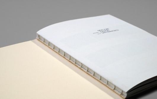 - TRAVEL JOURNAL : Joseph Johnson / Bench.li #binding #book