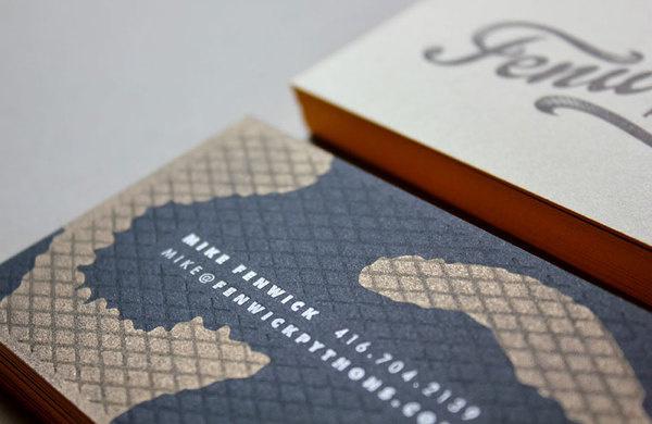 J Fletcher design #business #card #identity #collateral #logo