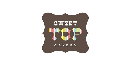 Sweet Top Cakery |Â re:play #red #shield #brown #gold #logo #blue #green
