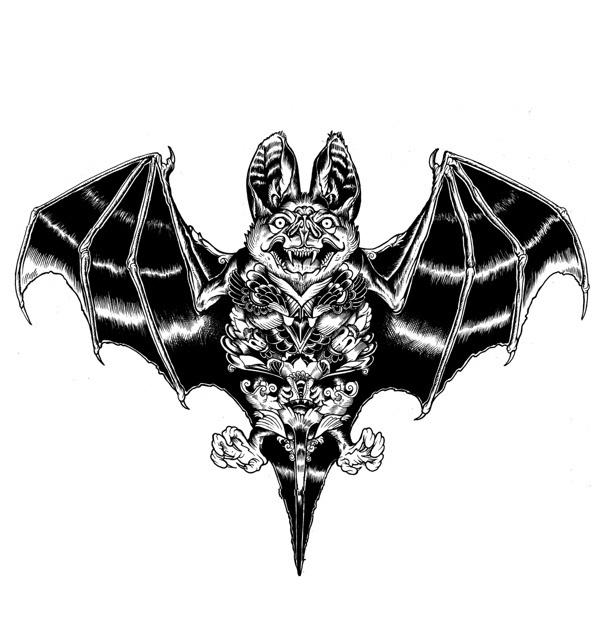 Wildlife part 2 on Behance #iain #bat #macarthur