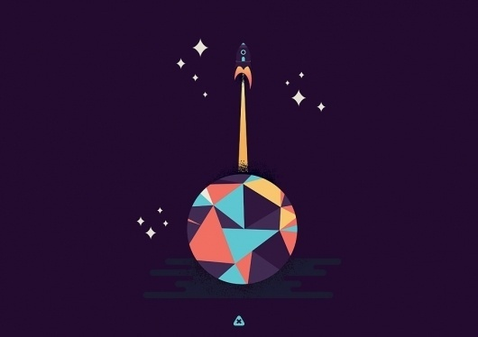 Home Page | Micah Burger #illustration #ship #rocket