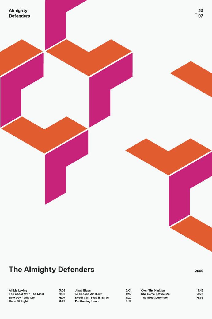 swissritual.ca #SwissRitual #graphic #design #minimal #music #grid #poster #swiss #illustration #AlmightyDefenders