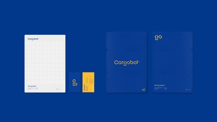Cargobot - Mindsparkle Mag Hachetresele designed Cargobot's identity, which is inspired by classical modernism. His functionalist personality alludes to the simplicity of movement as the main identity axis. #logo #identity #branding #design #color #photography #graphic #design #gallery #blog #project #mindsparkle #mag #beautiful #portfolio #designer