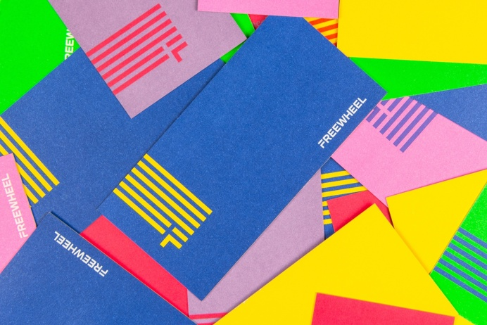 Freewheel, Collins, Branding, Logo, Identity