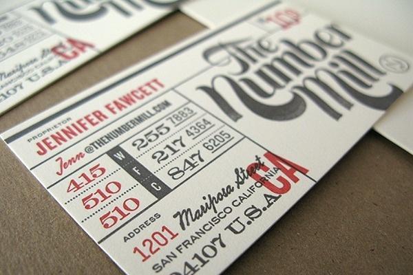 ticket, letterpress