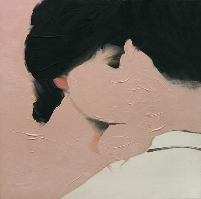 ArtSlant - Lovers #painting #puczel #art #jarek