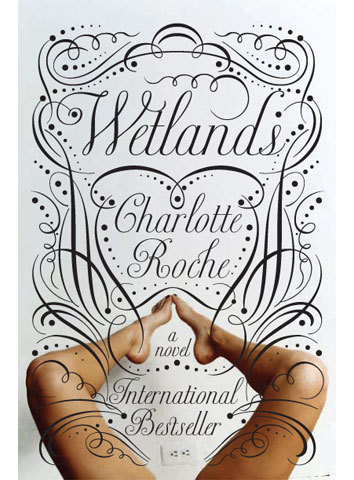 Typeverything.com Wetland book cover by de Vicq. #script #typography