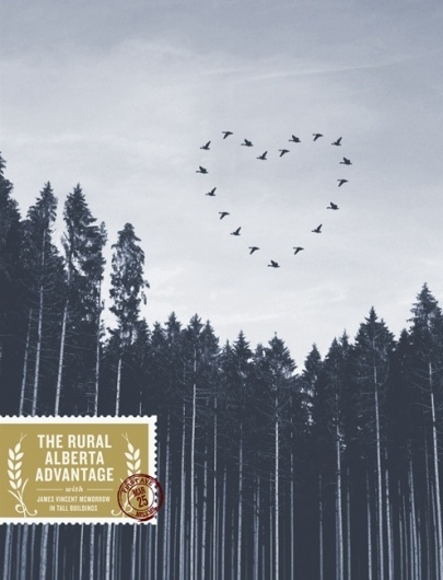 Brian Danaher #stamp #advantage #sky #alberta #gig #the #birds #rural #poster #trees