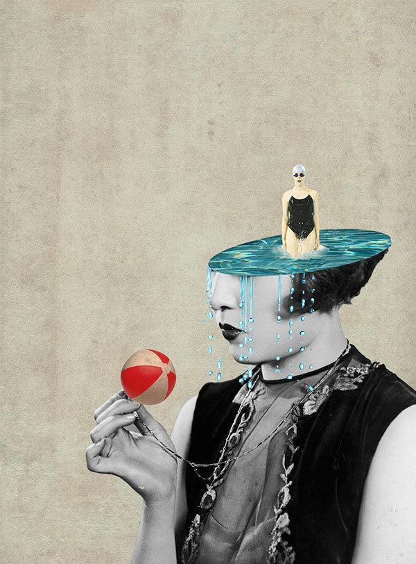 Julia Geiser #collage #vintage #design