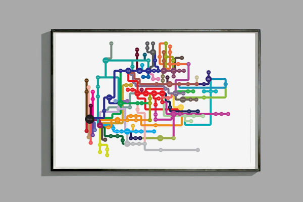 http://www.richardrobinsondesign.co.uk/index.php?/project/music-map/ #music #design #map