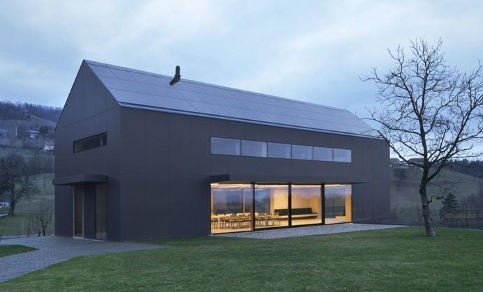 The Black Barn by Arhitektura d.o.o. #minimalist #house