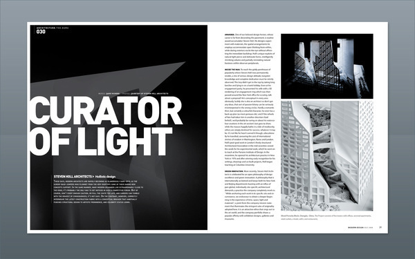 Modern Design Magazine 13 on Editorial Design Served #design #publication #grid #editorial #magazine