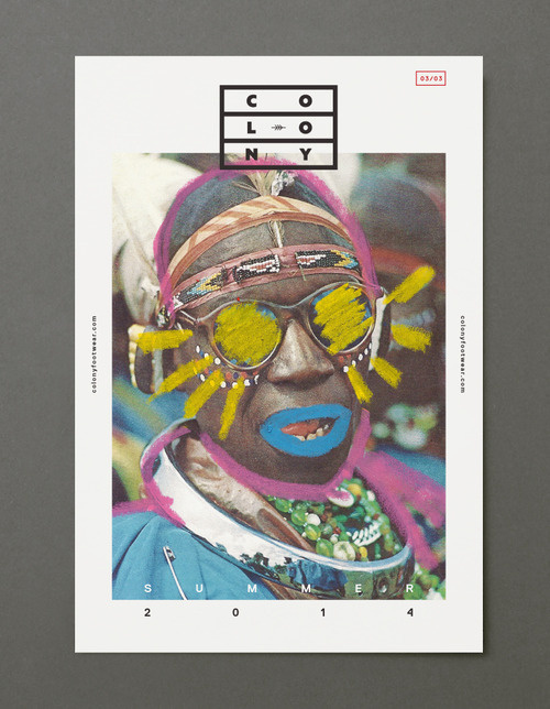 (39) Tumblr #colony #card #illustration #portrait #identity #poster #logo #pastel