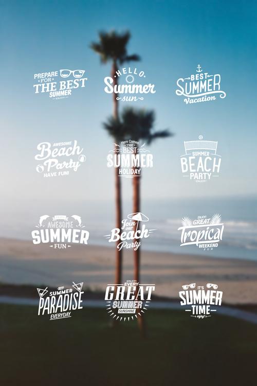 mark #stamp #design #graphic #icons #summer