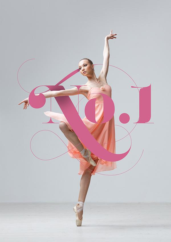 No.1 Dance Studio on Behance #type