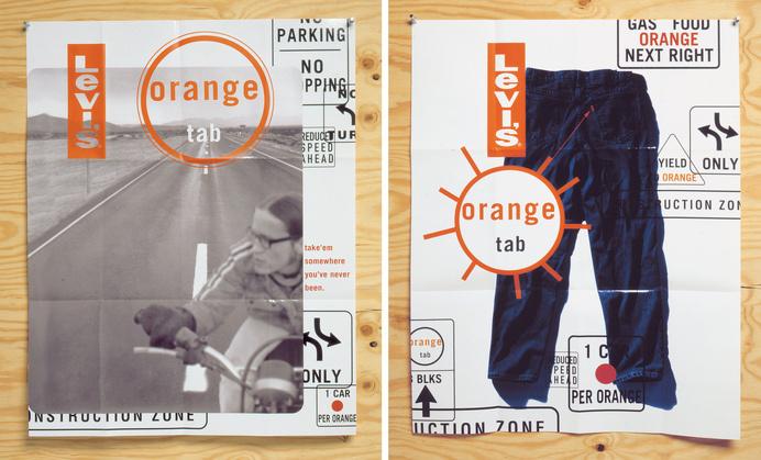 Levi's - Werner Design Werks #layout #levis #brochure #catalog