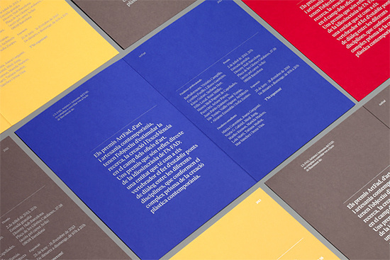 ArtFad 2013 Identity by Hey Studio   Inspiration Grid   Design Inspiration #editorial