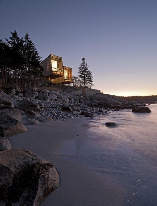 Two Hulls House by MacKay by Lyons Sweetapple Architects #architecture #house