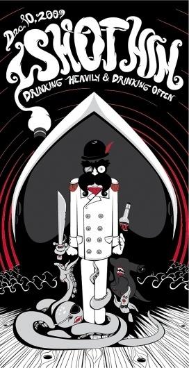 thewellarmed.com #i #him #illustration #shot #poster