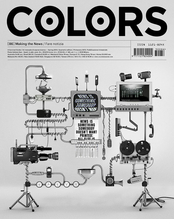 flpr #machine #robot #print #cover #colors #editorial #magazine