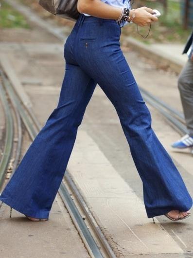 The Sartorialist #fashion #milan #jeans