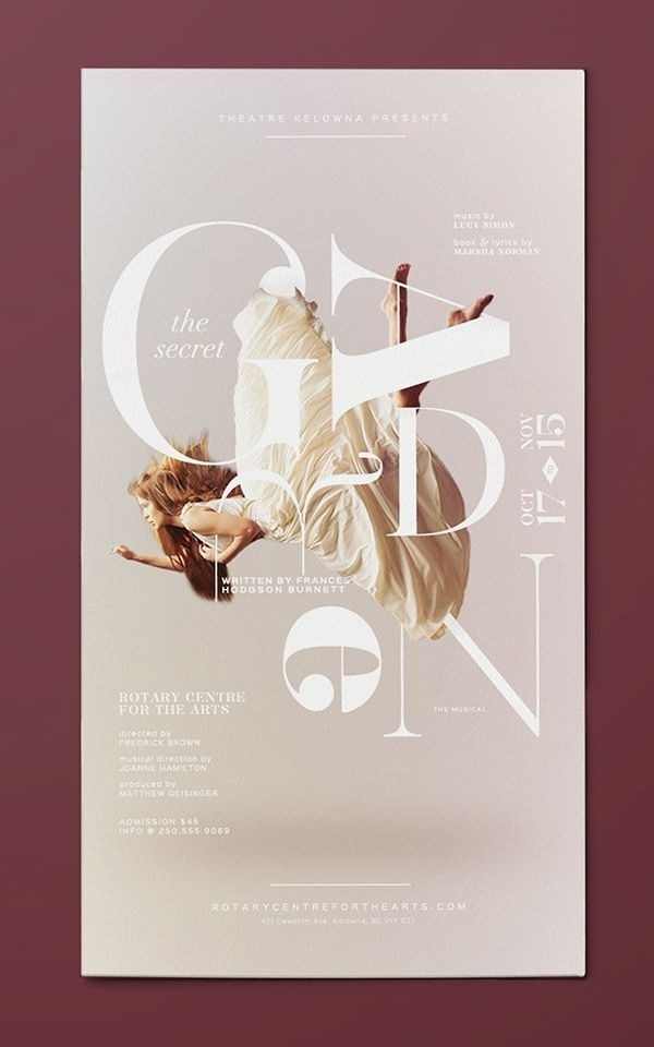Secret Garden by Darbi Nicole #poster #typography