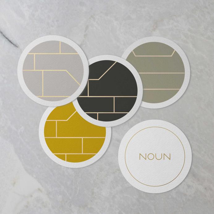noun restaurant identity branding brand logo deluxe luxury visual corporate design best graphic modern minimal simple clean beauty beautiful