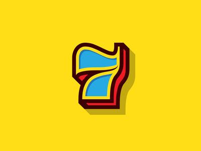 7 #type #illustration #number #seven