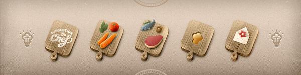 Suggestion du Chef Paykhan Freelance Graphic Design #icon #illustration #web