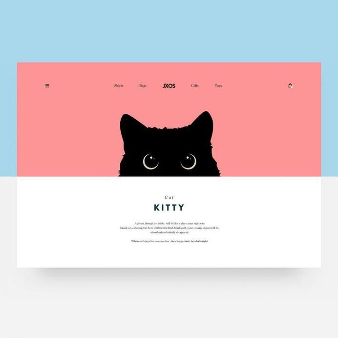 Cat. Designed for JXOS. 🐱