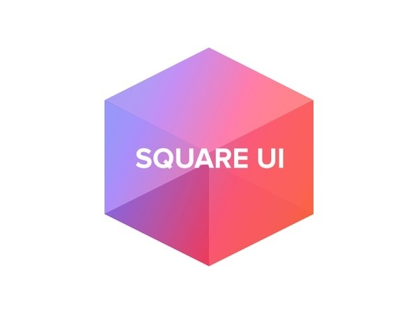 Square UI Logo (by Shmidt Sergey) #logo #colors #colorfull #cube
