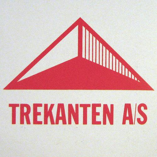 Mobelfabriken Trekanten #old #trekant #funiture #retro #scandinavian #logo
