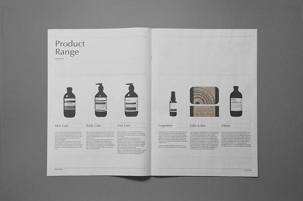 Aesop Mankind Brand Guide jerome lousick Portfolio The Loop #lousick #loop #guide #mankind #aesop #portfolio #brand #jerome